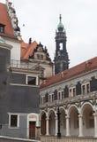dresden duitsland Soorten de stad Historisch centrum Royalty-vrije Stock Afbeelding
