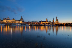 Dresden at the Elbe, Germany Royalty Free Stock Photography