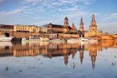 Dresden - Elbe, Germany Royalty Free Stock Images