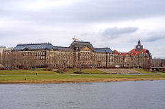 Dresden - Elbe, Germany. Home  in Dresden - Elbe, Germany Royalty Free Stock Photography
