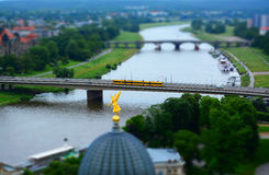 Dresden at the Elbe, Germany Royalty Free Stock Photos
