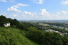 Dresden Elbe valley Royalty Free Stock Photography