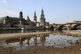 Dresden, Elbufer Royalty Free Stock Photo