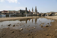 Dresden, Elbufer Stock Photos