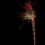 Dresden Fireworks Stock Images
