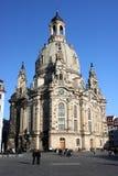 Dresden Frauekirche Foto de Stock Royalty Free