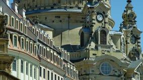 Dresden Frauenkirche Foto de Stock