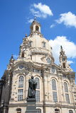 Dresden Frauenkirche Imagen de archivo libre de regalías