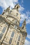 dresden frauenkirche Royaltyfria Bilder