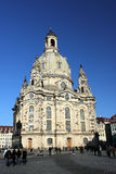 dresden frauenkirche Royaltyfri Foto