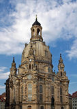 Dresden Frauenkirche Royalty Free Stock Photo