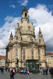 Dresden Frauenkirche 02 Fotografía de archivo libre de regalías