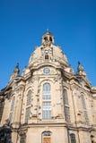 dresden frauenkirche Royaltyfri Bild