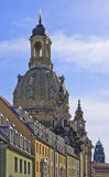 The Dresden Frauenkirche Church Royalty Free Stock Images