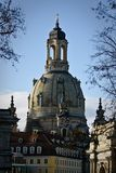 Dresden Frauenkirche (Church of Our Lady). Germany Stock Photography