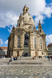 Dresden Frauenkirche (Church of Our Lady). Stock Images