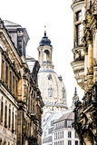 Dresden Frauenkirche Royalty Free Stock Images