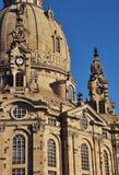Dresden - Frauenkirche em detalhe Imagens de Stock