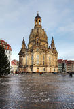 Dresden Frauenkirche, Germany Royalty Free Stock Photos