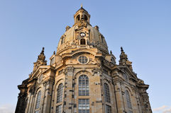 The Dresden Frauenkirche (Germany) Royalty Free Stock Images