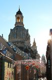 Dresden Frauenkirche, Germany Royalty Free Stock Images
