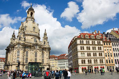 Dresden Frauenkirche 01 Royalty Free Stock Images