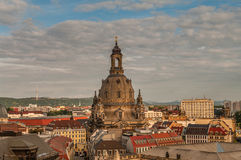 Dresden Frauenkirche, Germany Royalty Free Stock Image