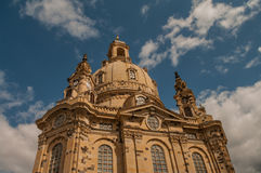 Dresden Frauenkirche, Germany Stock Images