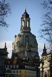 Dresden Frauenkirche (iglesia de nuestra señora) Fotografía de archivo