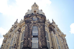 The Dresden Frauenkirche Stock Image