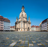 Dresden Frauenkirche Royalty Free Stock Photography