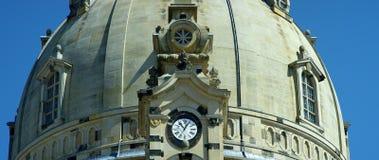 Dresden Frauenkirche uma igreja luterana Fotos de Stock Royalty Free
