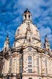 Dresden Frauenkirche Stock Photography