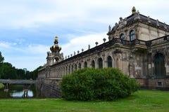 Dresden galleri & x28; Kronentor& x29; Royaltyfri Bild