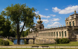 Dresden gallery Stock Images