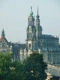 Dresden gammal stad Arkivbild