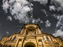 Dresden gammal town royaltyfria bilder