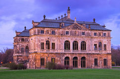 Dresden garden palace Royalty Free Stock Photo