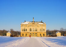 Dresden garden palace in winter Royalty Free Stock Photos