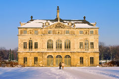 Dresden garden palace in winter Stock Photography
