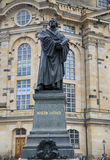 DRESDEN, GERMANY – AUGUST 13, 2016: Frauenkirche Our Lady chu royalty free stock image