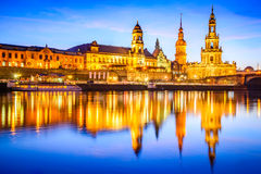 dresden germany royaltyfria foton