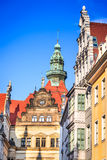 Dresden, Germany -Altstadt royalty free stock photos