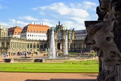 The Zwinger Palace, Dresden, Germany Royalty Free Stock Images
