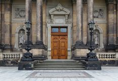 Dresden, Germany - August 4, 2017: Zwinger - late German Baroque, founded in the early 18th century. a complex of four magnificent Royalty Free Stock Image