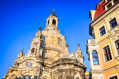 Dresden, Germany - Frauenkirche royalty free stock photos