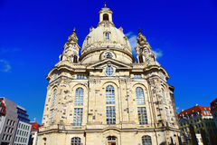 Dresden - Germany, Frauenkirche cathedral Royalty Free Stock Photography