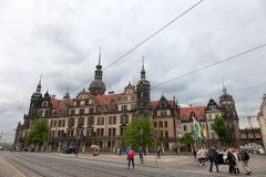 Dresden. Germany. Kinds of the city. Historical Center. royalty free stock images