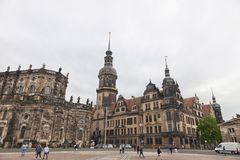 Dresden. Germany. Kinds of the city. Historical Center. stock photography