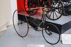 DRESDEN, GERMANY - MAI 2015: Bike Eureka 1885 in Dresden Transpo Royalty Free Stock Photo